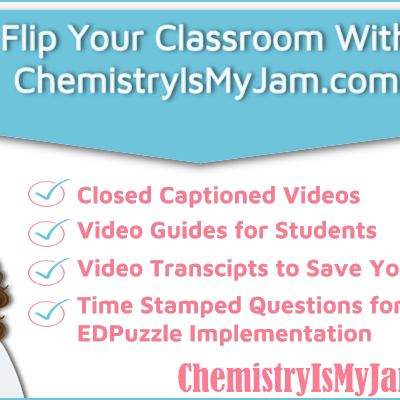 Resources For the Flipped Chemistry Classroom