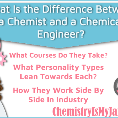 What is the Difference Between a Chemist and a Chemical Engineer?