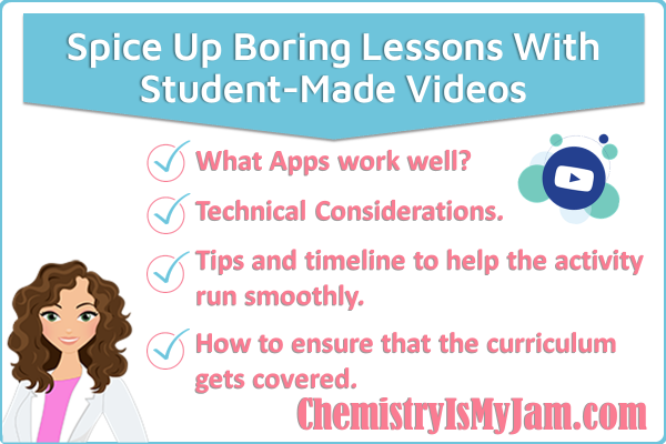 Spice up boring lessons with student made videos. What apps work well? Find out about technical considerations and tips for making the activity go smoothly. Read about how to ensure that the curriculum gets covered.