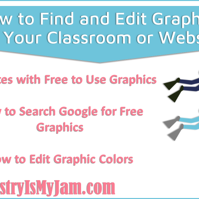 How to Find Great Graphics for Your Classroom or Class Website