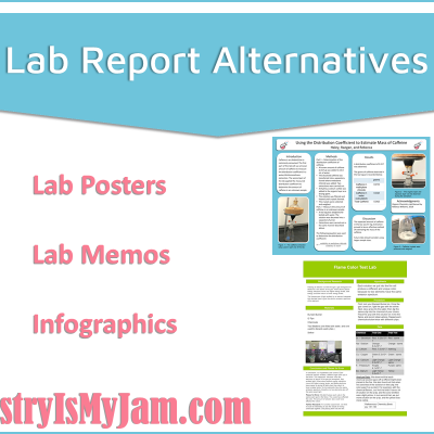 Lab Report Alternatives – Lab Posters and Lab Memos