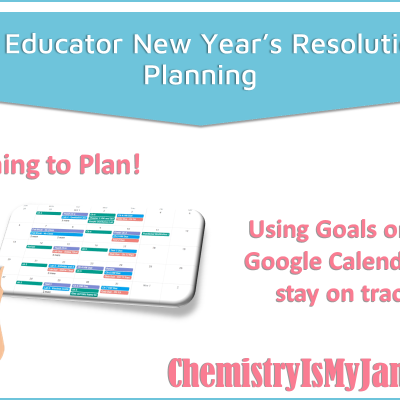 My Educator New Year's Resolution:  Planning