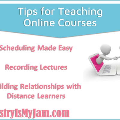 Tips for Teaching Online Courses