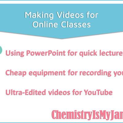 Making Videos for Online Classes